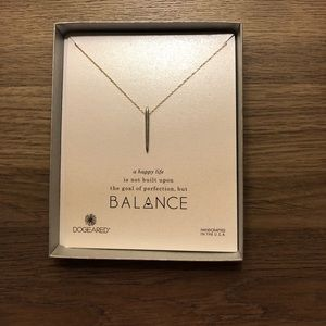 "Dogeared ""balance"" necklace"